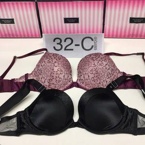 New❤️lot 2 Victoria secret push-up bra